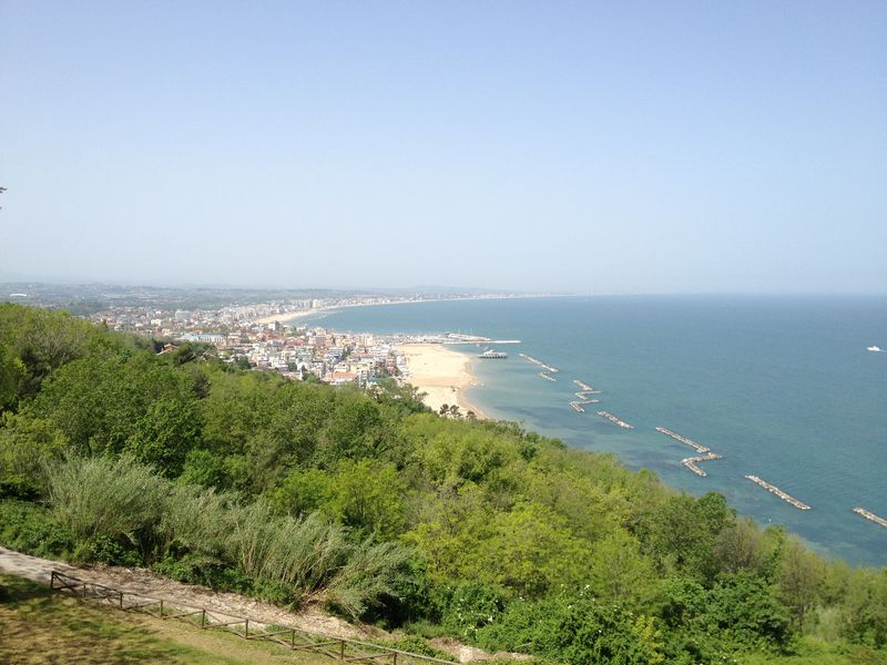 4. Tagesetappe von Cesenatico nach Ancona